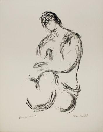 Litografía Stadler - Weiblicher Akt / Female Nude
