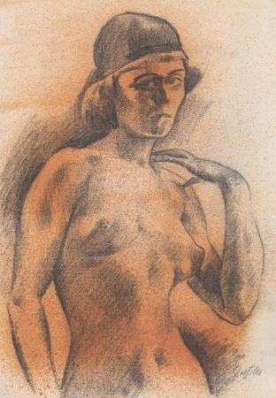 Sin Técnico Dressler - Weiblicher Akt mit Kopfbedeckung
