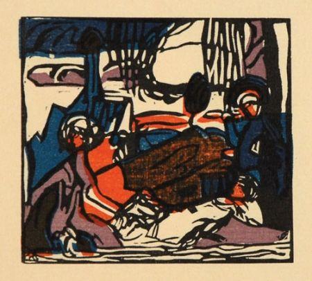 Grabado En Madera Kandinsky - Weisser Klang
