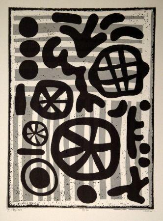 Linograbado Nebel - Werknummer 595/1964