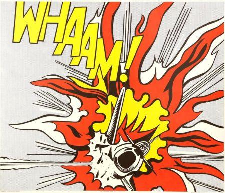Litografía Lichtenstein - Whaam!