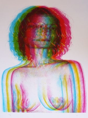 Litografía Rodriguez - White 1