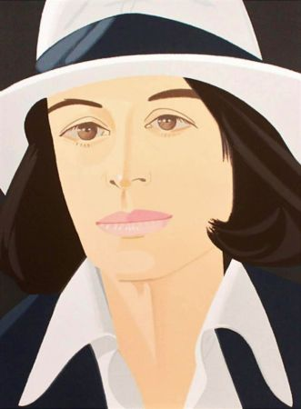 Serigrafía Katz - White Hat