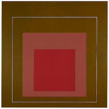 Litografía Albers - White Line Square IV, 1966