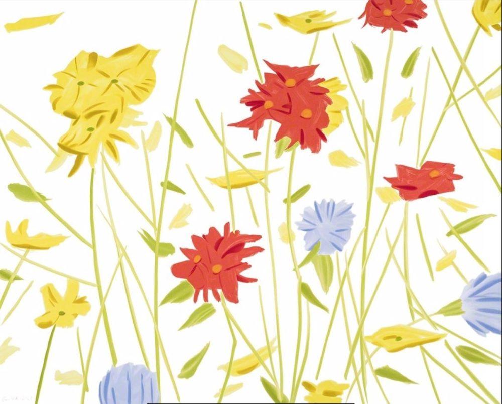 Serigrafía Katz - Wildflowers