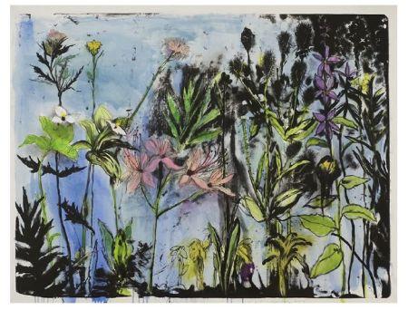 Litografía Dine - Wildflowers in New York I