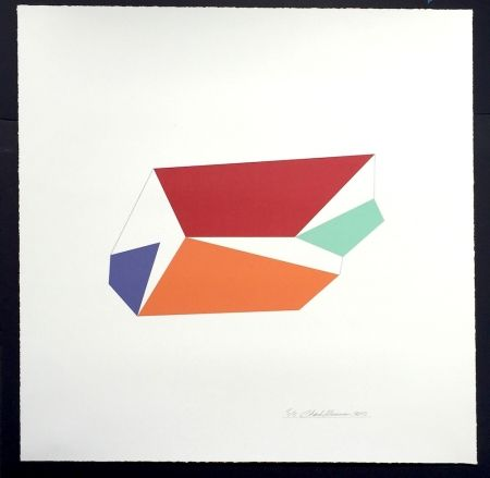 Serigrafía Hinman - Wind, from Kites Suite
