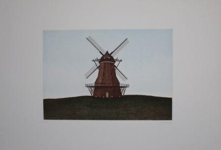 Aguafuerte Y Aguatinta Moritz - Windmühle