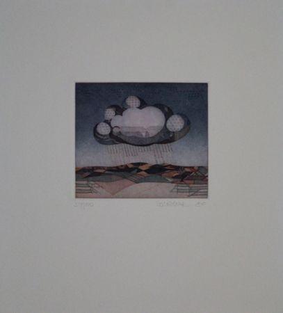 Aguafuerte Y Aguatinta Franke - Wolke