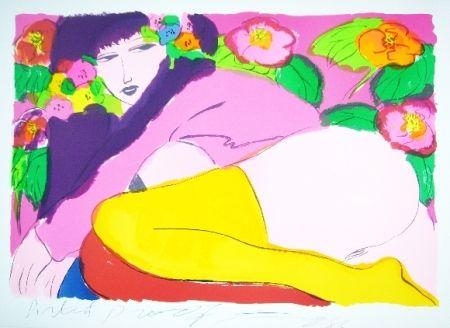 Litografía Ting - Woman 19