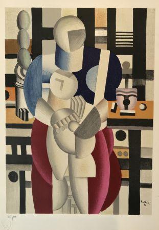 Litografía Leger - Woman and Child (La femme et l'enfant)