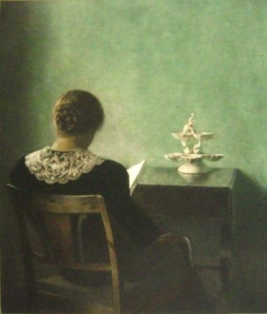 Manera Negra Ilsted - Woman Reading