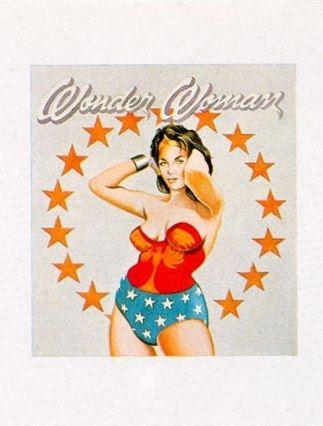 Litografía Ramos - Wonder Woman