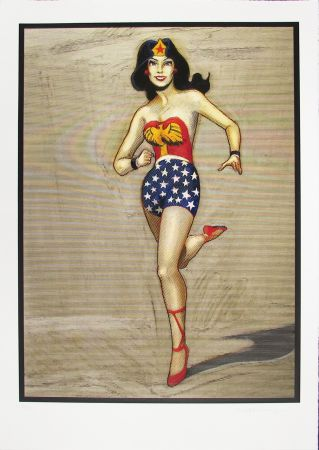 Grabado En Madera Ramos - Wonder Woman