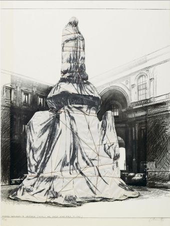 Múltiple Christo - Wrapped Monument To Leonardo