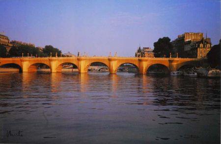 Múltiple Christo - '' Wrapped  Pont Neuf ''