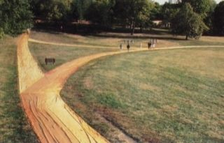 Múltiple Christo - Wrapped Walk Ways, Loose Park, Kansas City, Missouri, 1977_78