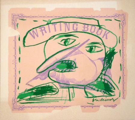 Litografía Alechinsky - Writing Book