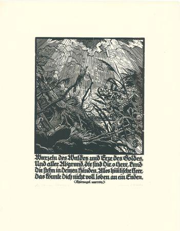 Grabado En Madera Kätelhön - Wurzeln des Waldes...