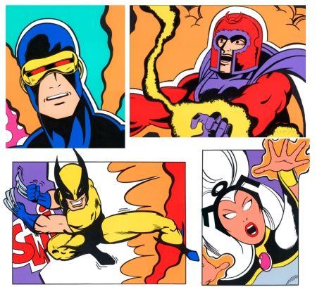 Serigrafía Crash - X-Men Portfolio-
