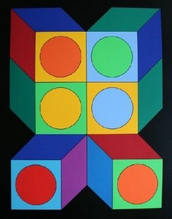 Serigrafía Vasarely - XICO 5