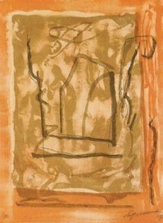 Litografía Ràfols Casamada - Xipre-1