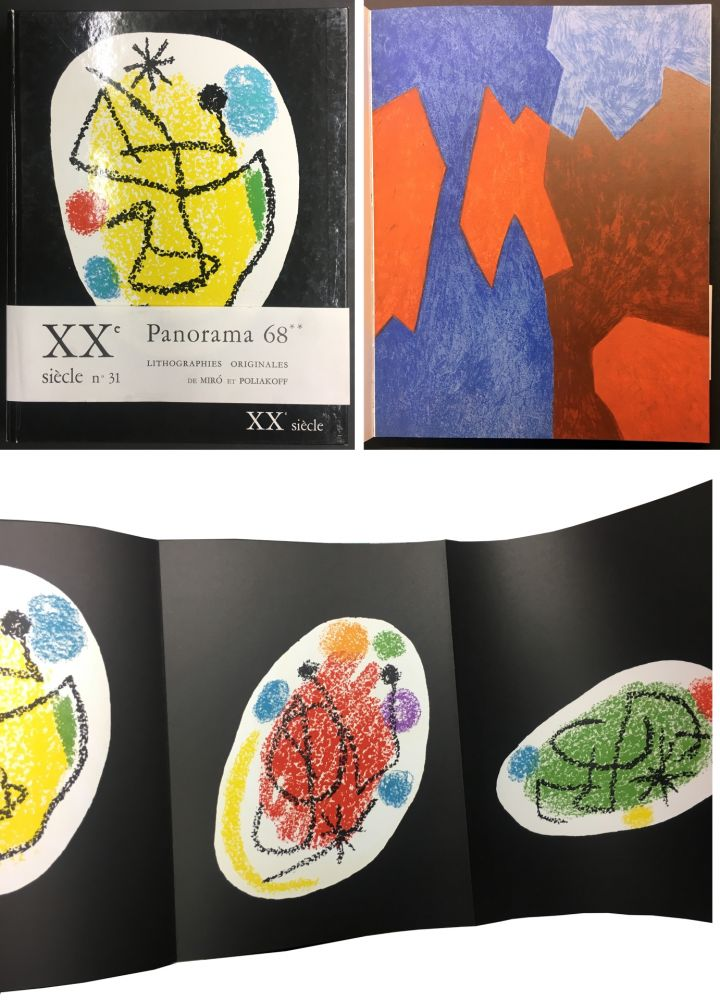 Libro Ilustrado Miró - XXe SIECLE. Nouvelle série. XXXe année. N° 31. Décembre 1968 - PANORAMA 68. LES GRANDES EXPOSITIONS
