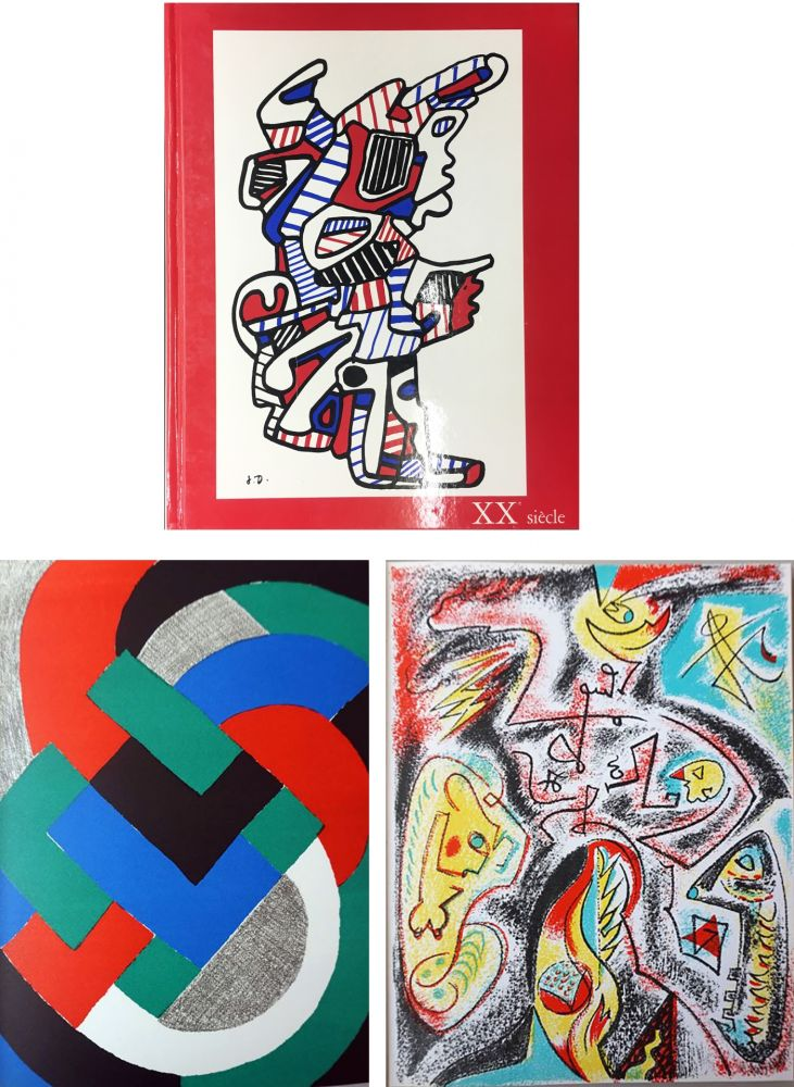 Libro Ilustrado Delaunay - XXe SIECLE. Nouvelle série. XXXIe année. N° 32. Juin 1969 (Sonia Delaunay, André Masson)