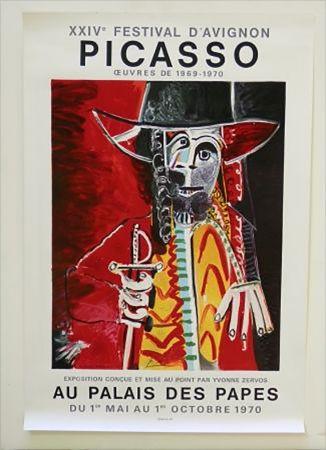 Litografía Picasso - XXIV Festival D'Avignon