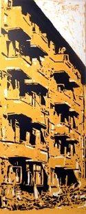 Serigrafía Herman - Yellow Building