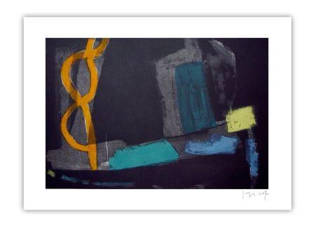 Grabado Capa - Yellow ower dark