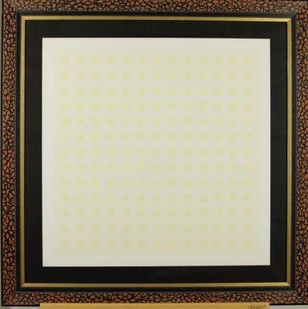 Serigrafía Calderara - Yellow squares