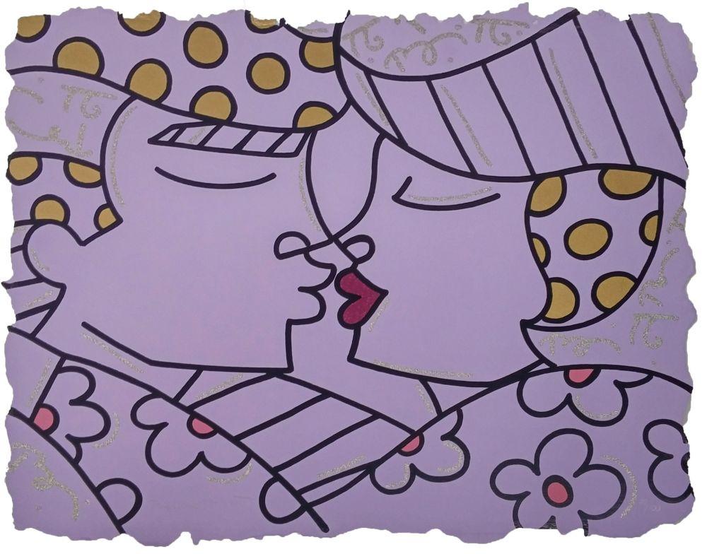 Serigrafía Britto - YOU ARE SO WONDERFUL (PURPLE)