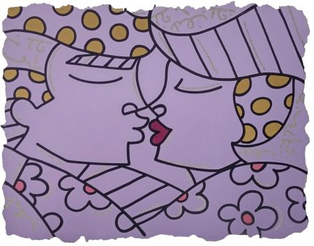 Serigrafía Britto - YOU ARE SO WONDERFUL (PURPLE)
