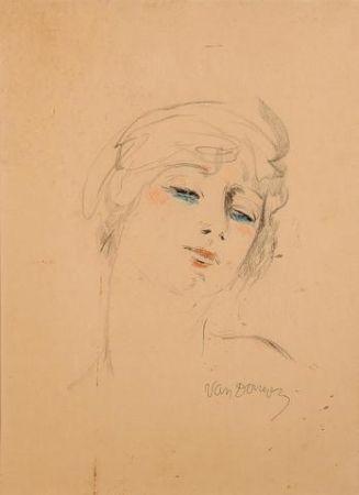 Litografía Van Dongen - Young Girl Wih Blond Hair
