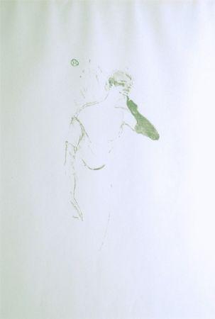 Litografía Toulouse-Lautrec - Yvette Guilbert vue par Toulouse-Lautrec