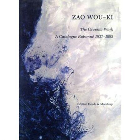 Libro Ilustrado Zao - Zao Wou-ki, the graphic work: a catalogue raisonné, 1937-1995