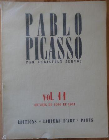 Libro Ilustrado Picasso - Zervos Vol 11 (1940-1941)