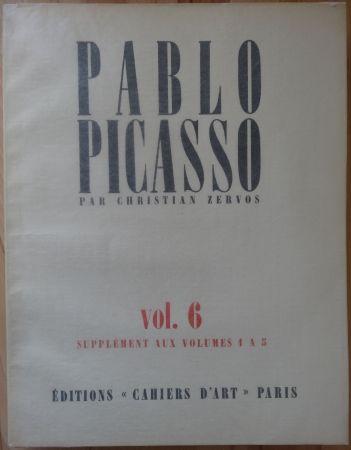 Litografía Picasso - Zervos Vol 6 (Supplément n° 1 à 5)