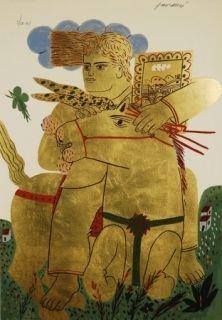 Serigrafía Fassianos - Zeus