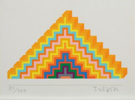 Serigrafía Tilson - Ziggurath