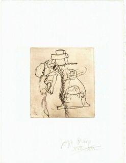 Grabado Beuys - Zirkulationszeit: Die Mütter