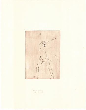 Grabado Beuys - Zirkulationszeit: Mädchen