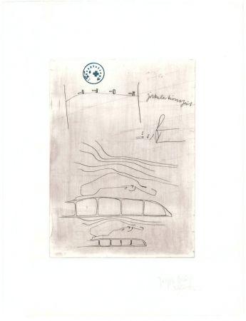 Grabado Beuys - Zirkulationszeit: Zirkulationszeit