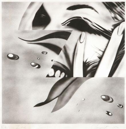 Litografía Rosenquist - Zone
