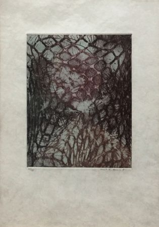 Aguatinta Ernst - ZU: SAMUEL BECKETT