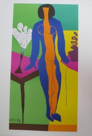 Litografía Matisse - Zulma