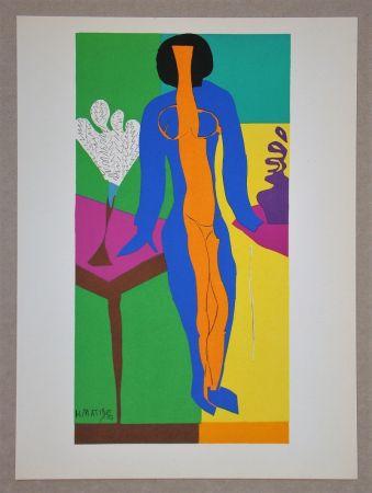 Litografía Matisse (After) - Zulma - 1950