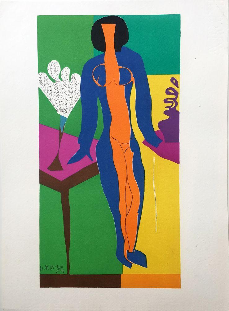 Litografía Matisse - ZULMA (1950)