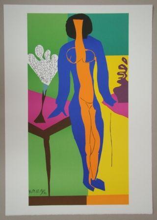 Litografía Matisse - Zulma, 1950